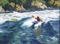 Kayaker • SOLD