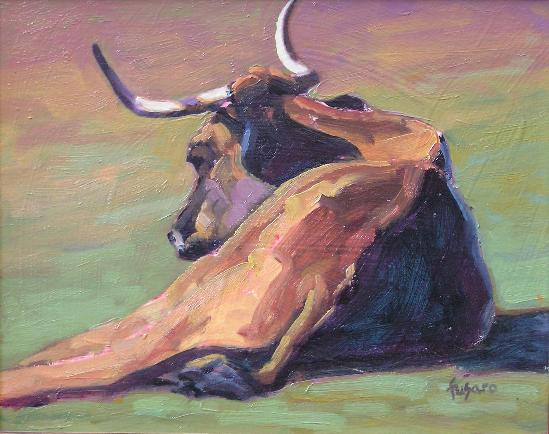 Longhorn Steer • SOLD